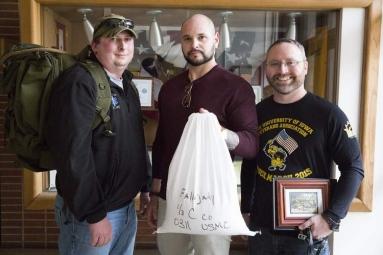 Scott Daly and fellow veterans