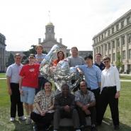 Wiemer Group with Disco Herky Summer 2004