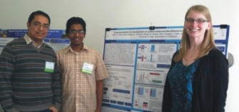 Binaya, Lahiru, & Megan at the 2013 OSTC Symposium