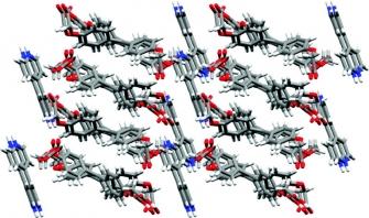 Crystalline organic semiconductor