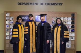 Graduation Celebration with Amnon