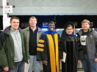 Enoch Graduation - December, 2011