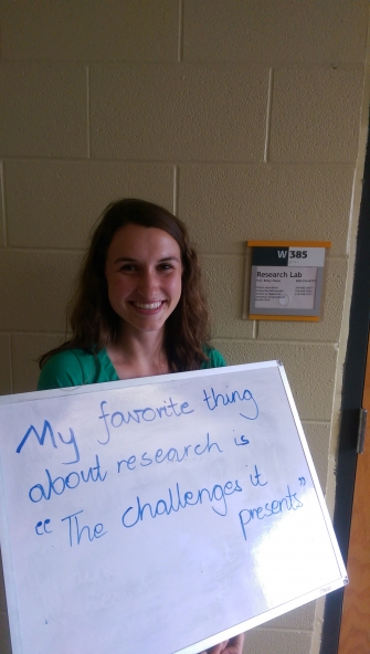 My favorite thing about research... by Hannah