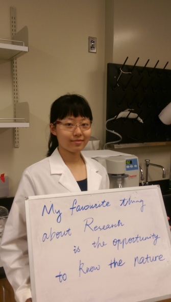 My favorite thing about research... by Jingyi
