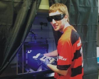 Michael making nanosensor materials