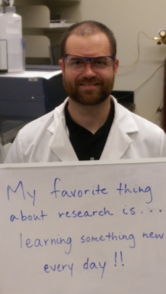 My favorite thing about research... by Rich