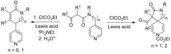 Reactivity of 4-substituted pyridines