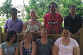 Some of the Haes Group, Summer 2013