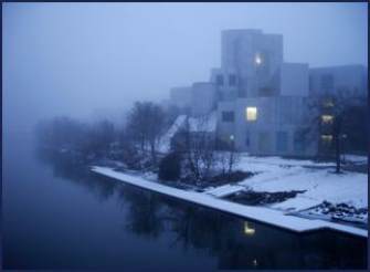 IATL on a foggy winter's day