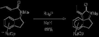 Ruthenium-mediated dearomatization